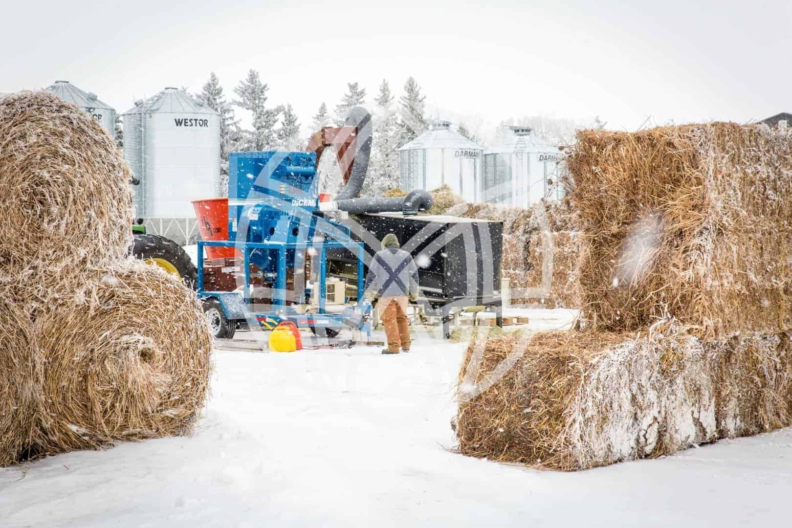 Biomass Separation Unit