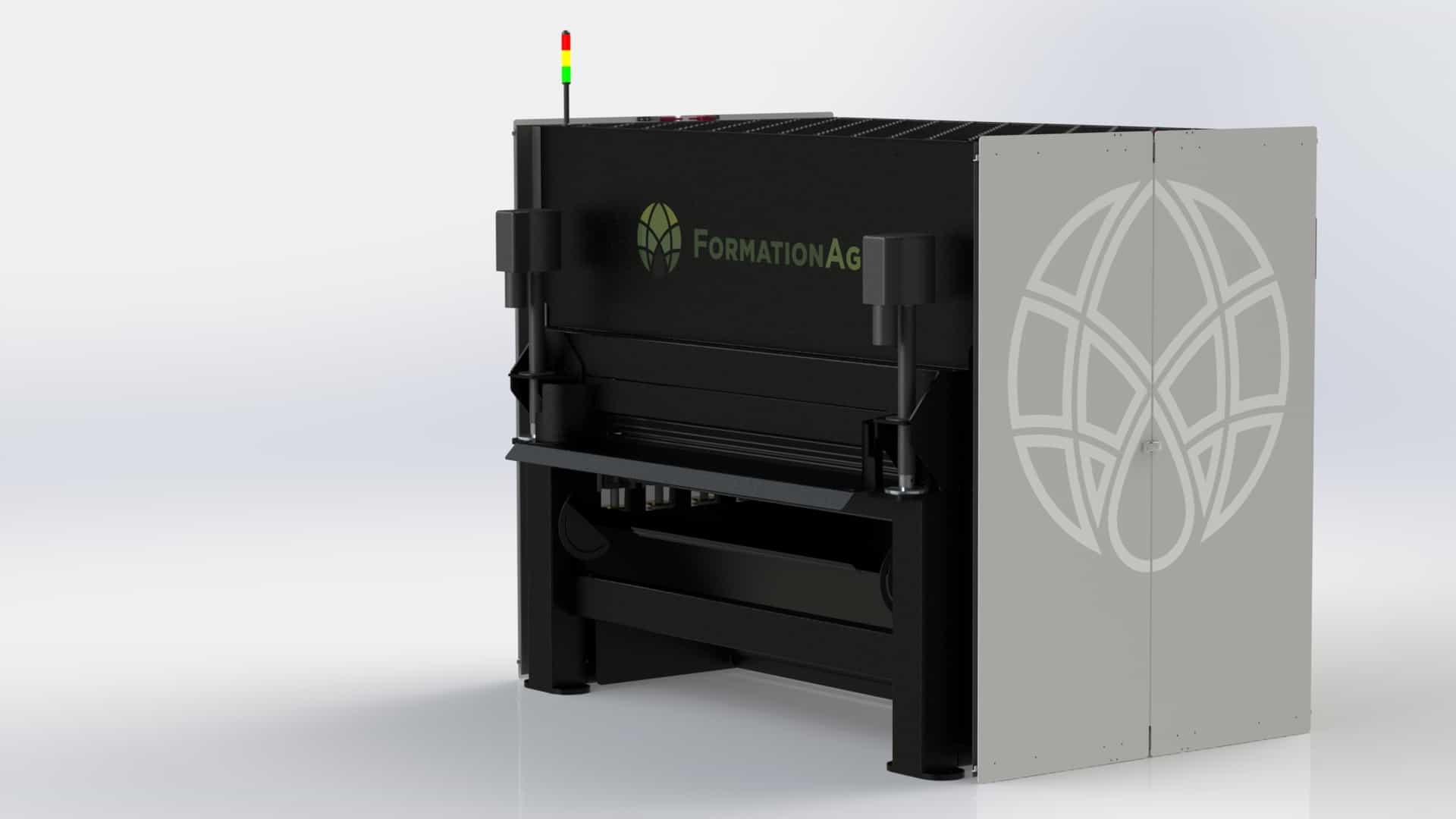 2020 Model of the FIberTrack 660 Decorticator